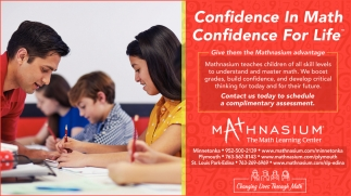 Confidence in Math, Confidence for Life