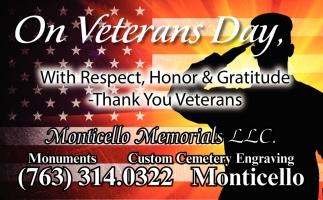 On Veterans Day