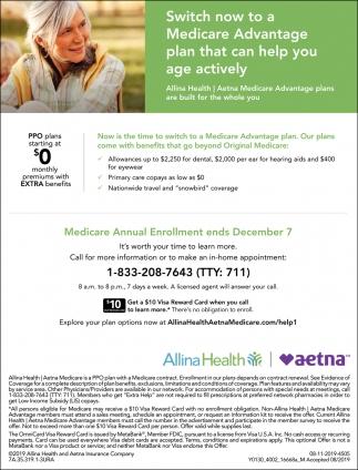 Medicare Annual Enrollment Ends December 7