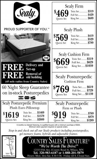 60 Night Sleep Guarantee on In-stock Posturepedics