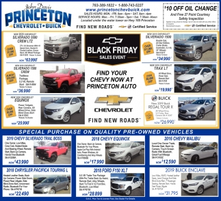 Find Your Chevy Now at Princeton Auto