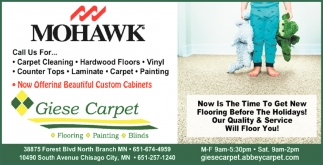 Now Offering Beautiful Custom Cabinets