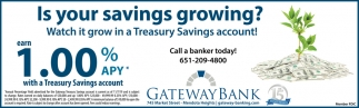 Is Your Savings Growing?