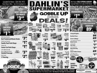 Gobble Up these Deals!