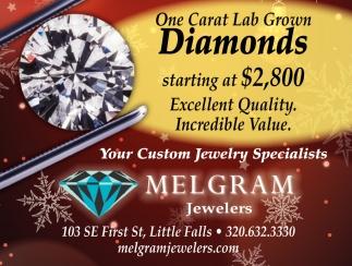 Your Custom Jewelry Specialists
