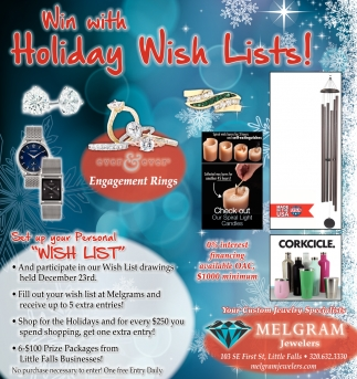 Win with Holiday Wish Lists!