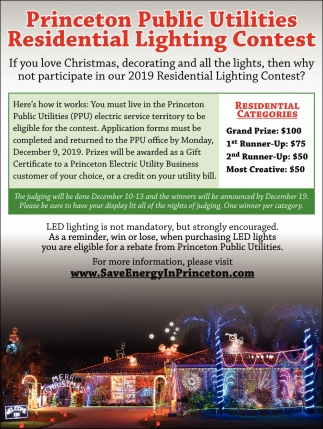 Residential Lighting Contest