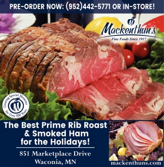 The Best Prime Rib Roast & Smoked Ham for the Holidays!