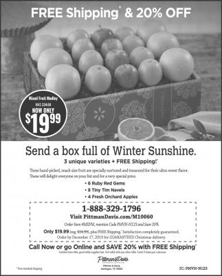 Send a Box Full of Winter Sunshine