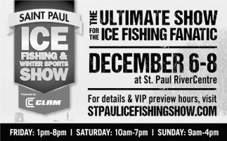 The Ultimate Show for the Ice Fishing Fanatic