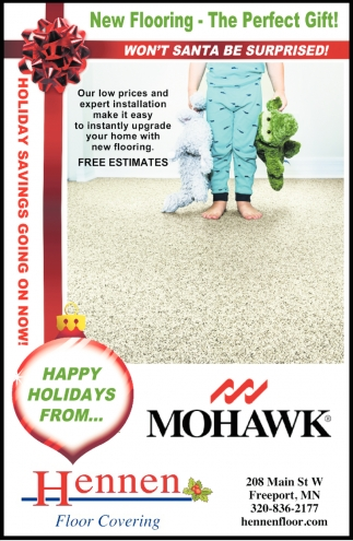 New Flooring - the Perfect Gift!