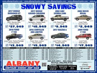 Snowy Savings