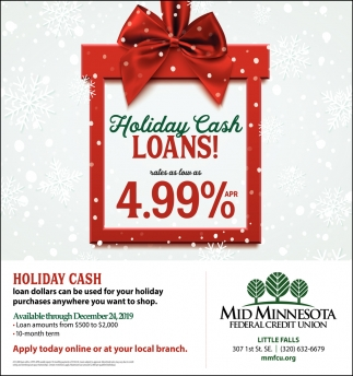 Holiday Cash Loans!