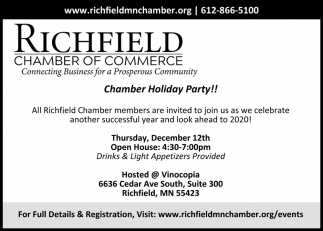 Chamber Holiday Party!