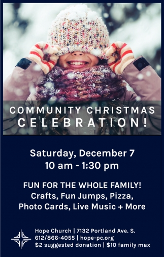 Community Christmas Celebration!