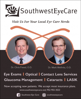 Visit Us for Your Local Eye Care Needs