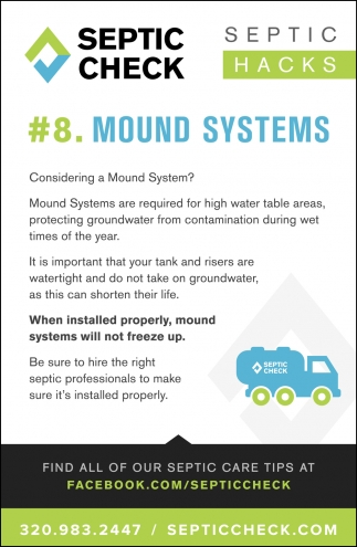 #8. Mound Systems
