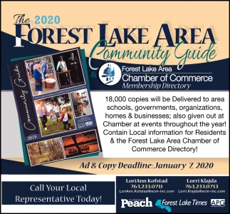 The 2020 Forest Lake Area Community Guide