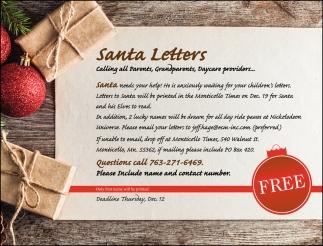 Santa Letters