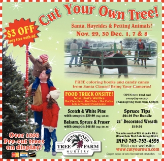 Cut Your Own Tree!