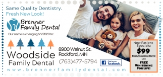 Same Quality Dentistry. Fresh New Look