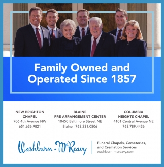 Family Owned and Operated Since 1857