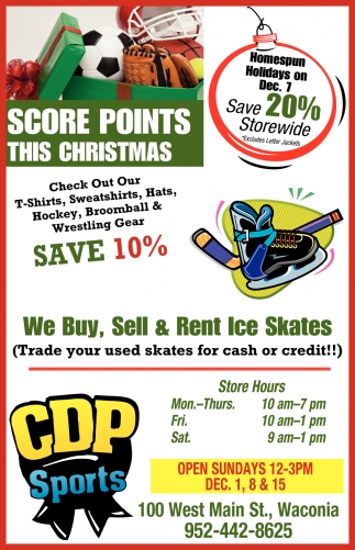 Score Points this Christmas