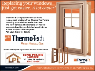 Replacing Your Windows Just Got Easier. A Lot Easier!