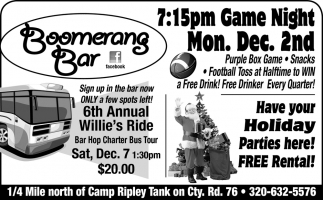6th Annual Willie's Ride