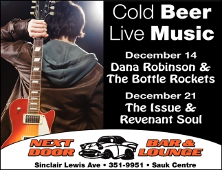 Cold Beer Live Music