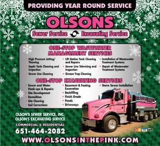 Providing Year Round Service