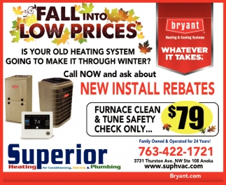 Fall Into Low Prices