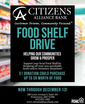 Food Shelf Drive