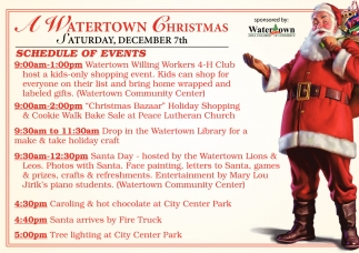 A Watertown Christmas