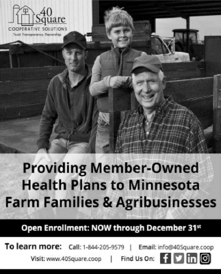 Providing Member-Owned Health Plans to Minnesota Farm Families & Agribusinesses