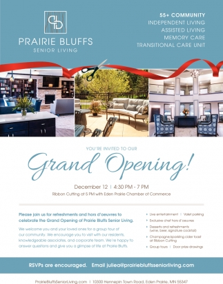 You're Invited to Our Grand Opening!