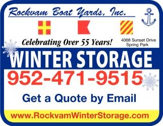Winter Boat Storage