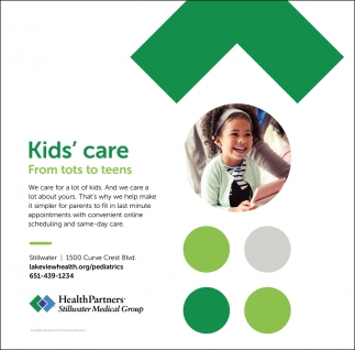 Kids' Care from Tots to Teens