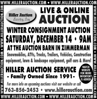 Live & Online Auction