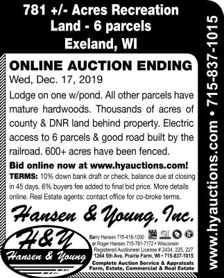 Online Auction Ending