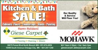 Kitchen & Bath Sale!