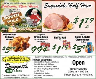 Sugardale Half Ham