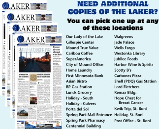 Need additional copies of The Laker?