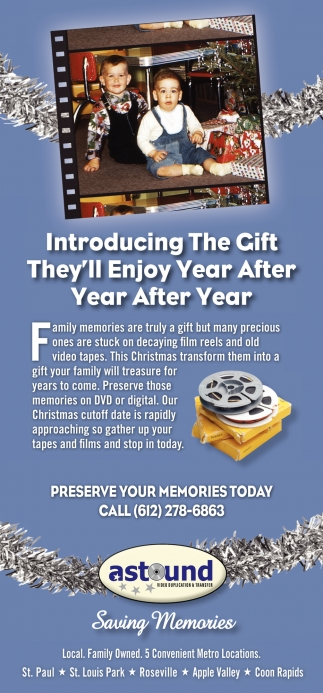 Introducing the Gift they'll Enjoy Year After Year