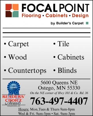 Flooring, Cabinets & Design Services