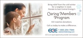 Caring Members Program