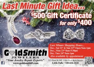Last Minute Gift Idea...
