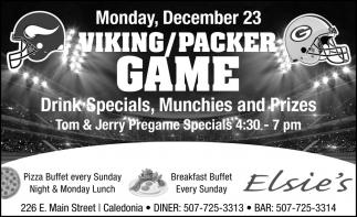 Viking/ Packer Game