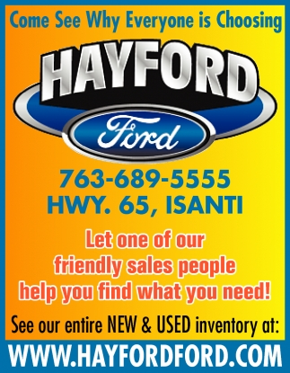 Come See Why Everyone is Choosing Hayford Ford