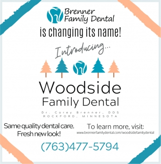 Brenner Family Dental is Changing its Name!